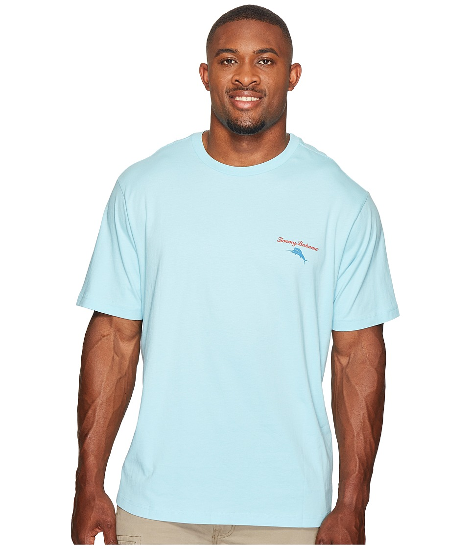 Tommy Bahama Big & Tall Big Tall Mr Ice Guy Tee (Graceful Sea) Men