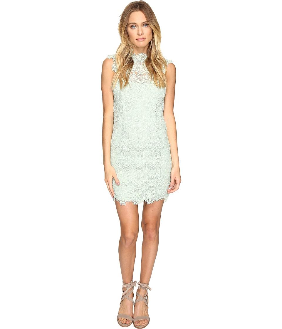 Free People Daydream Bodycon Slip Dress (Mint) Women