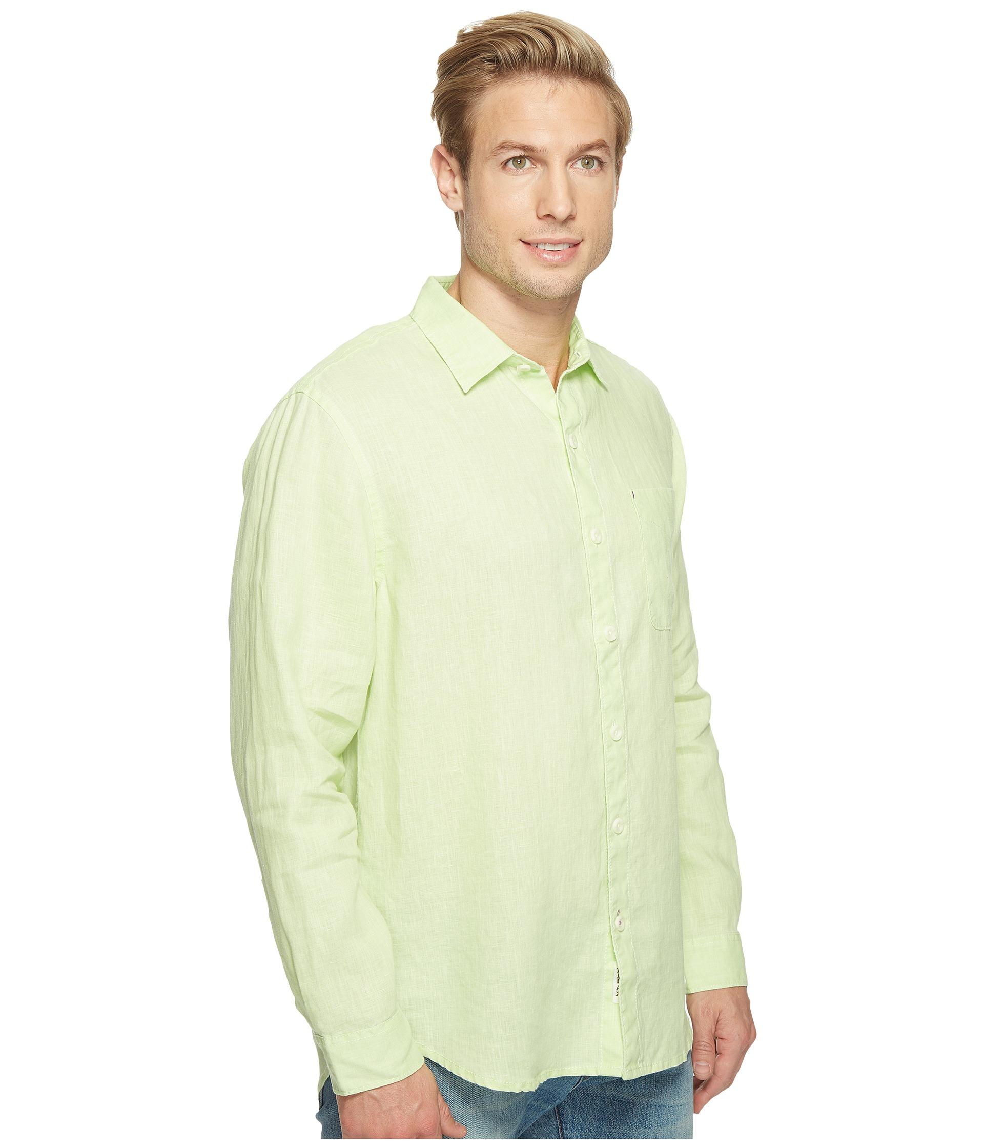 Tommy bahama sea glass breezer long sleeve shirt at for Tommy bahama long sleeve dress shirts