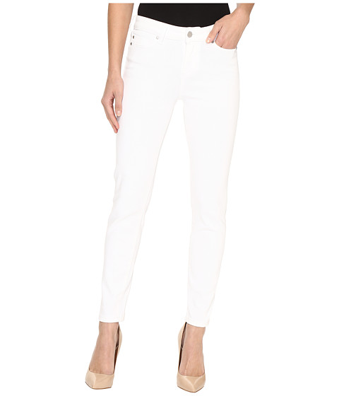 Liverpool Penny Ankle Skinny on Super Soft Stretch Denim in Bright White