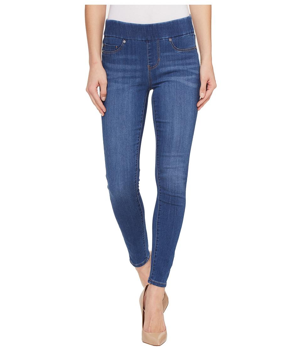 Liverpool - Sienna Pull-On Ankle in Silky Soft Denim in Coronado Mid (Coronado Mid) Womens Jeans