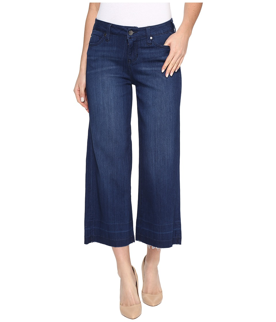 Liverpool Layla Wide Leg Crop with Released Hem on Silky ...