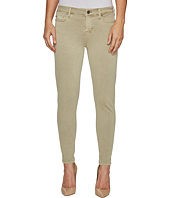 Liverpool - Devon Relaxed Ankle Skinny in Stretch Peached Twill in Pure Cashmere