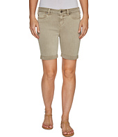Liverpool - Corine Rolled-Cuff Walking Shorts in Pigment Dyed Stretch Slub Twill in Pure Cashmere