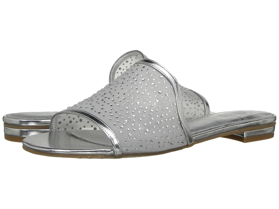 Adrianna Papell Lisa (Silver Stone Mesh) Women