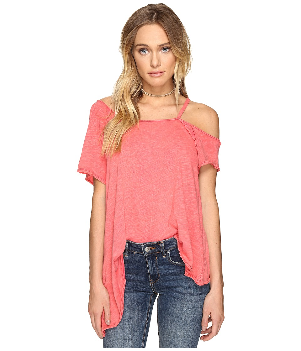 Free People Coraline Tee (Red) Women