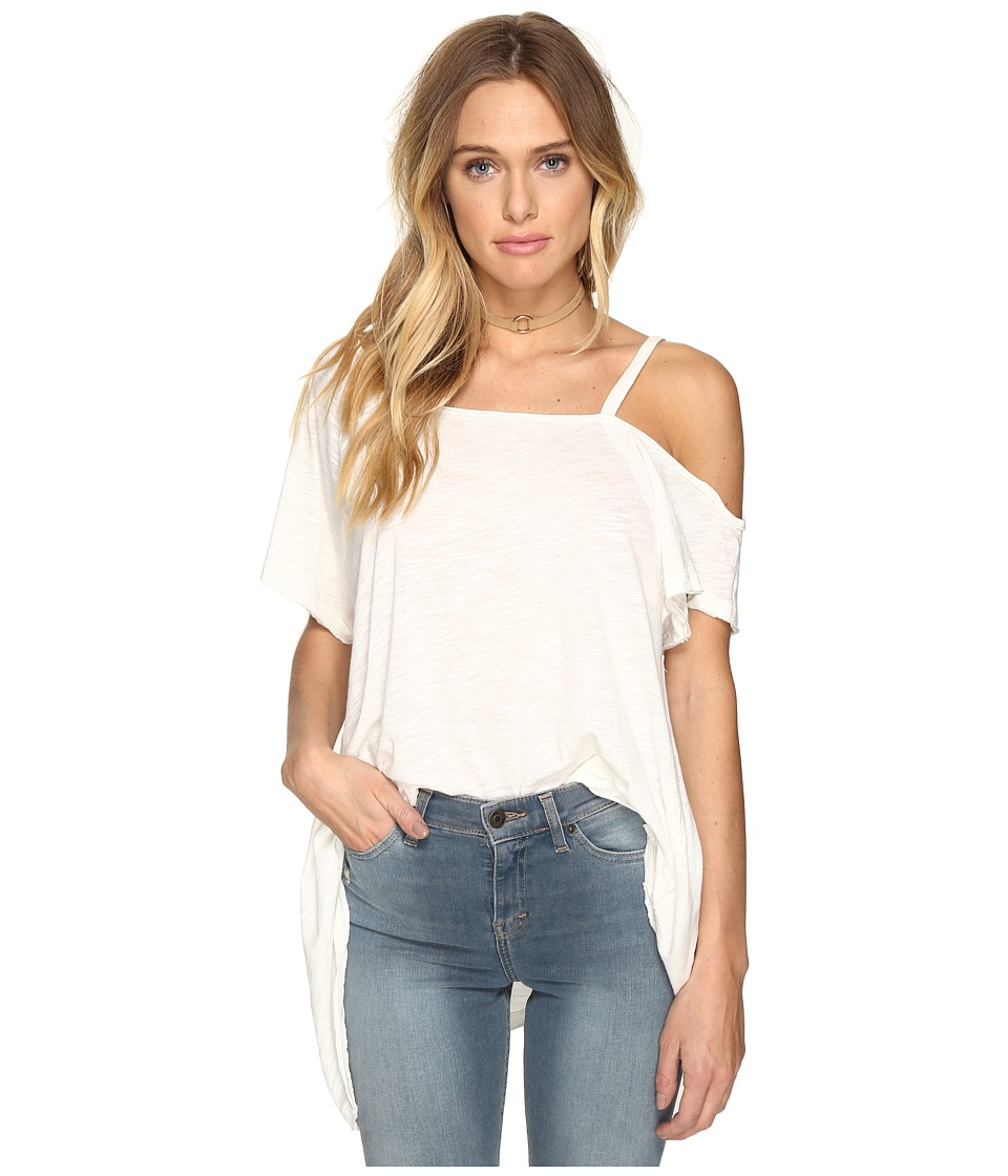 Free People Coraline Tee (White) Women
