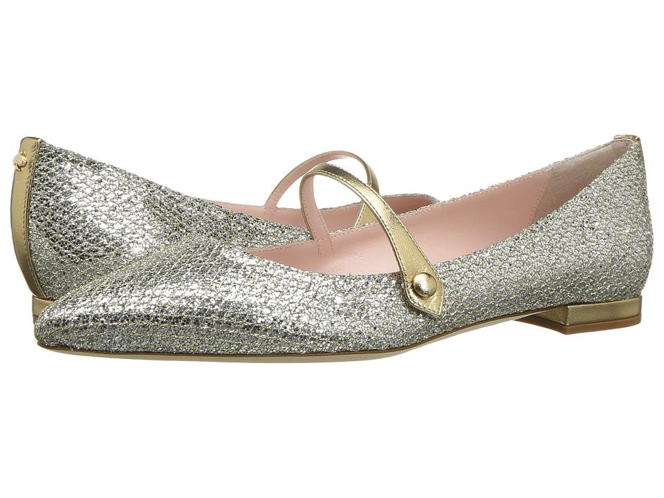 Kate Spade New York Bardot (Silver/Gold Firelight Fabric) Women