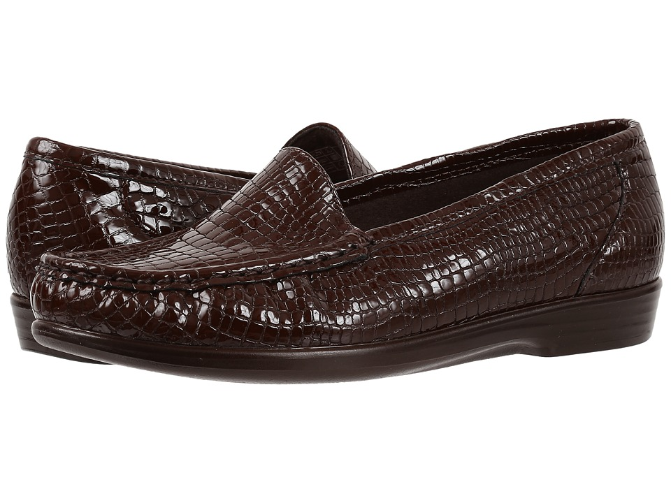 SAS Simplify (Brown Croc) Women
