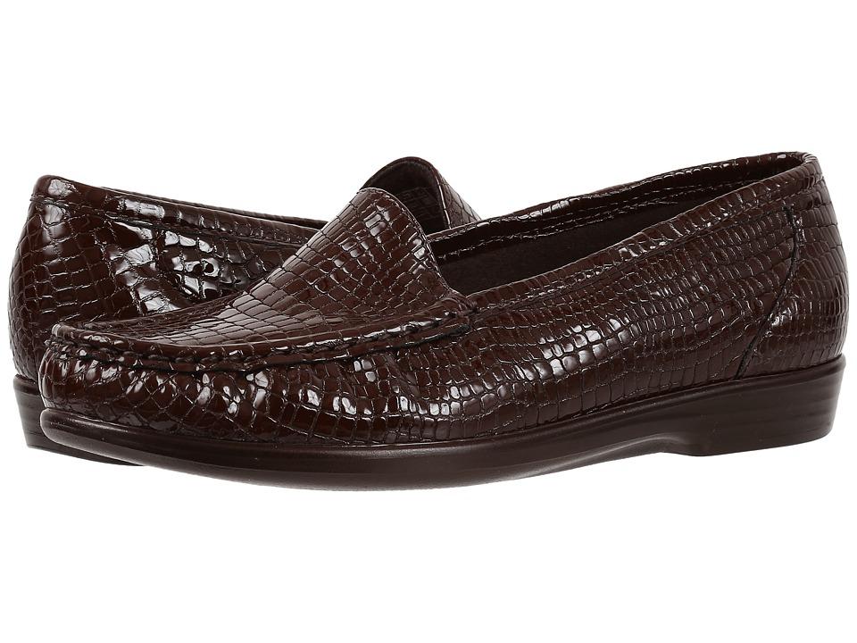 SAS Simplify (Brown Croc) Women