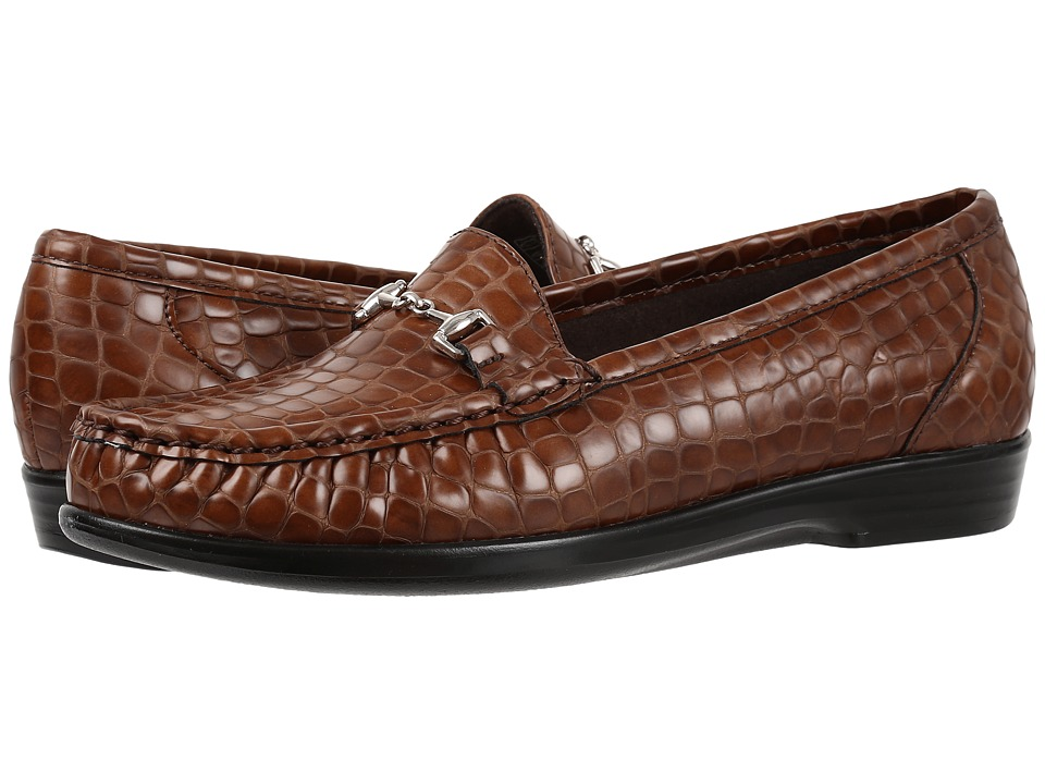 SAS Metro (Cognac Croc) Women's Shoes