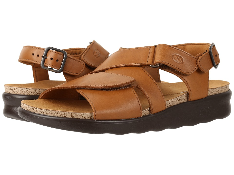 SAS Huggy (Caramel) Women's Shoes