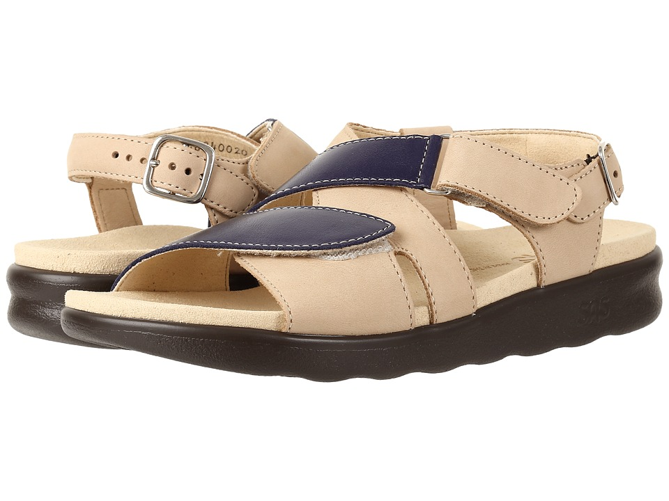 SAS - Huggy (Blue/Taupe) Women's Shoes