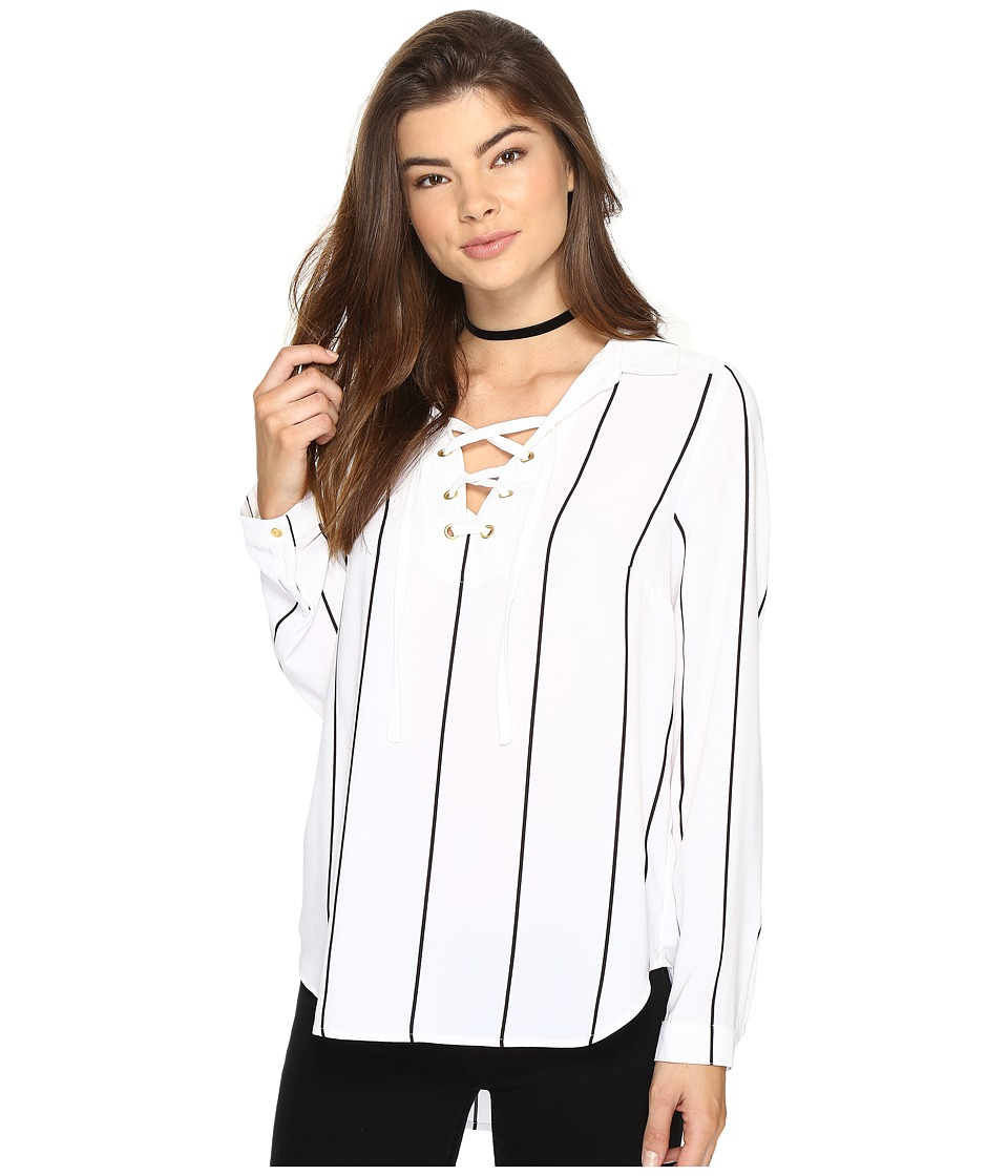 kensie - Straight Lines Top KS2K40S4
