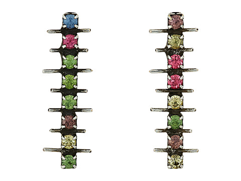 DANNIJO IMANI Earrings - Ox Silver/Multi
