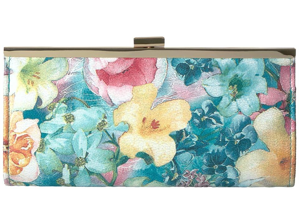 Jessica McClintock - Laura Soft Floral Frame Clutch