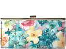 Laura Soft Floral Frame Clutch