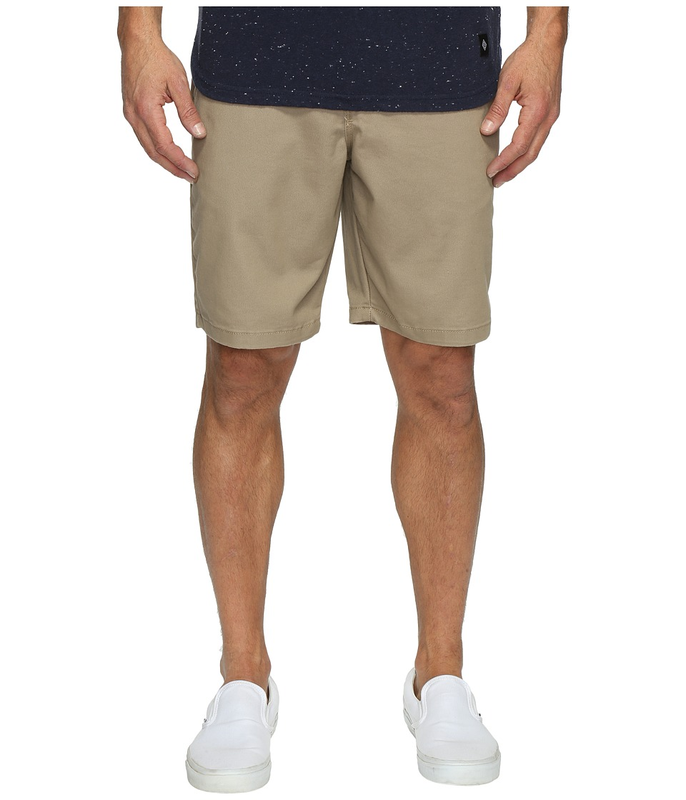 Vans Authentic Stretch Shorts 20 (Military Khaki) Men