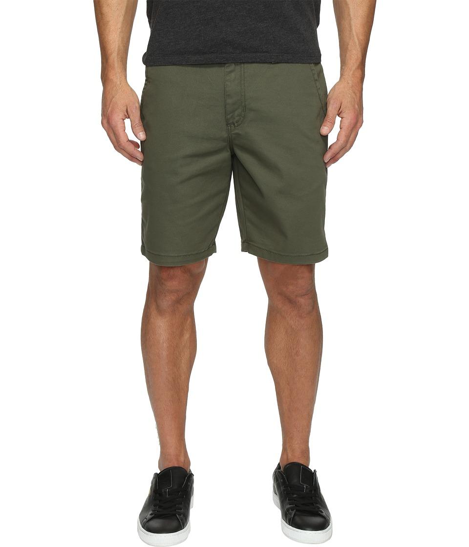 Vans Authentic Stretch Shorts 20 (Grape Leaf) Men