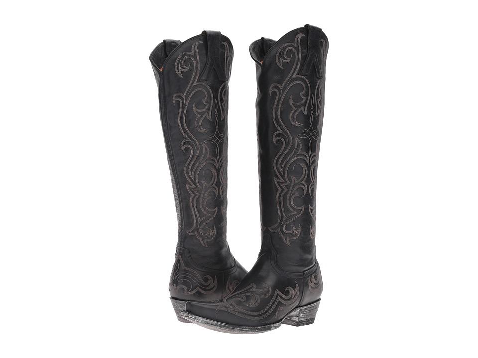 Old Gringo Dolce Stitch (Black) Cowboy Boots