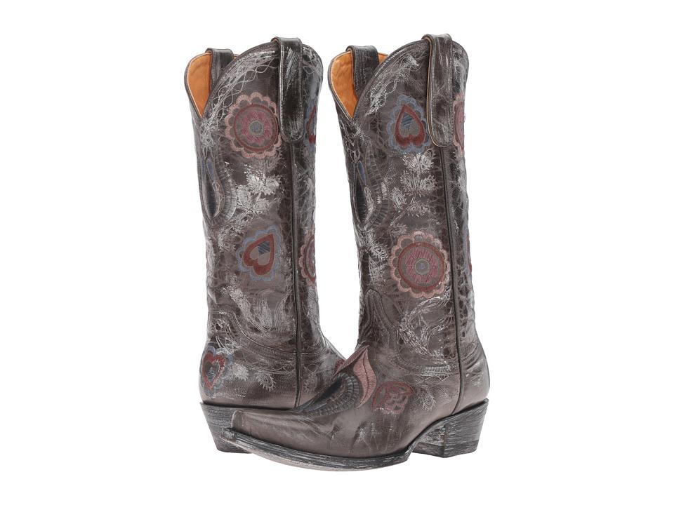 Old Gringo Orenda (Grey) Cowboy Boots