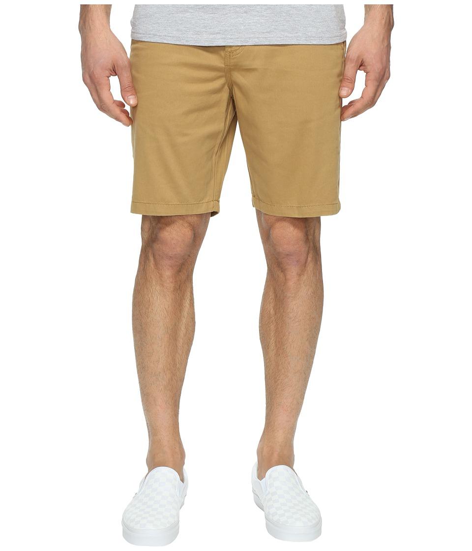 Vans Authentic Chino Shorts 20 (New Mushroom Brown) Men