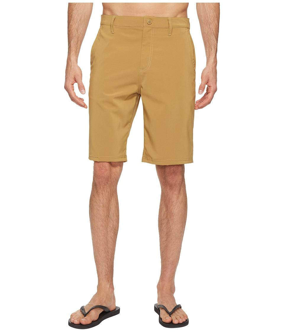 Vans Authentic Hybrid Shorts 21 (New Mushroom Brown) Men