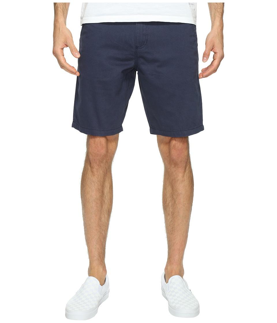 Vans Authentic Chino Shorts 20 (Dress Blues) Men