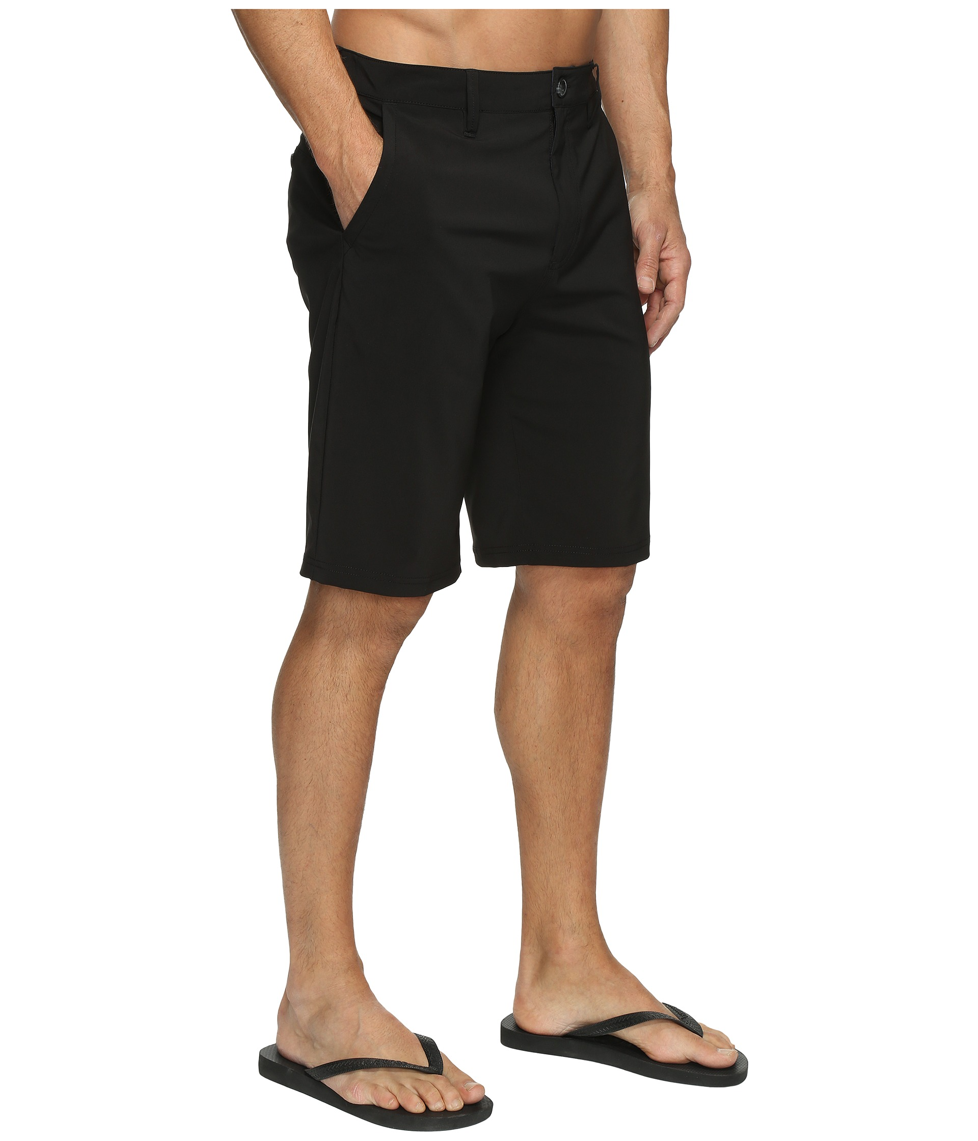 vans and shorts