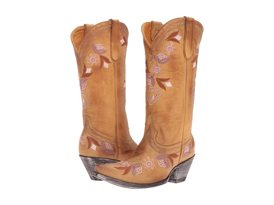 Old Gringo Onawa (Beige) Cowboy Boots