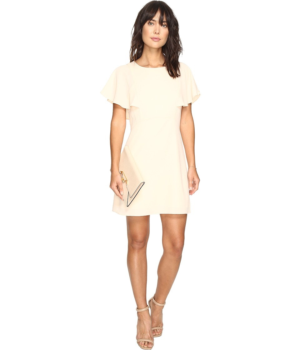 kensie Crinkle Crepe Dress KS3K7573 (Rosy Nude) Women