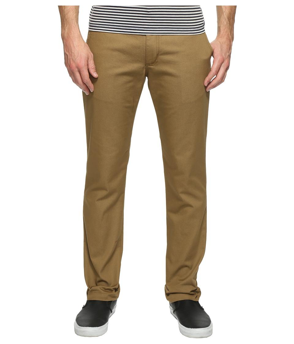 Vans - Authentic Stretch Chino Pants (Dirt) Men's Casual Pants