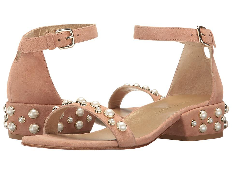 Stuart Weitzman Allpearls (Naked Suede) Women's Shoes