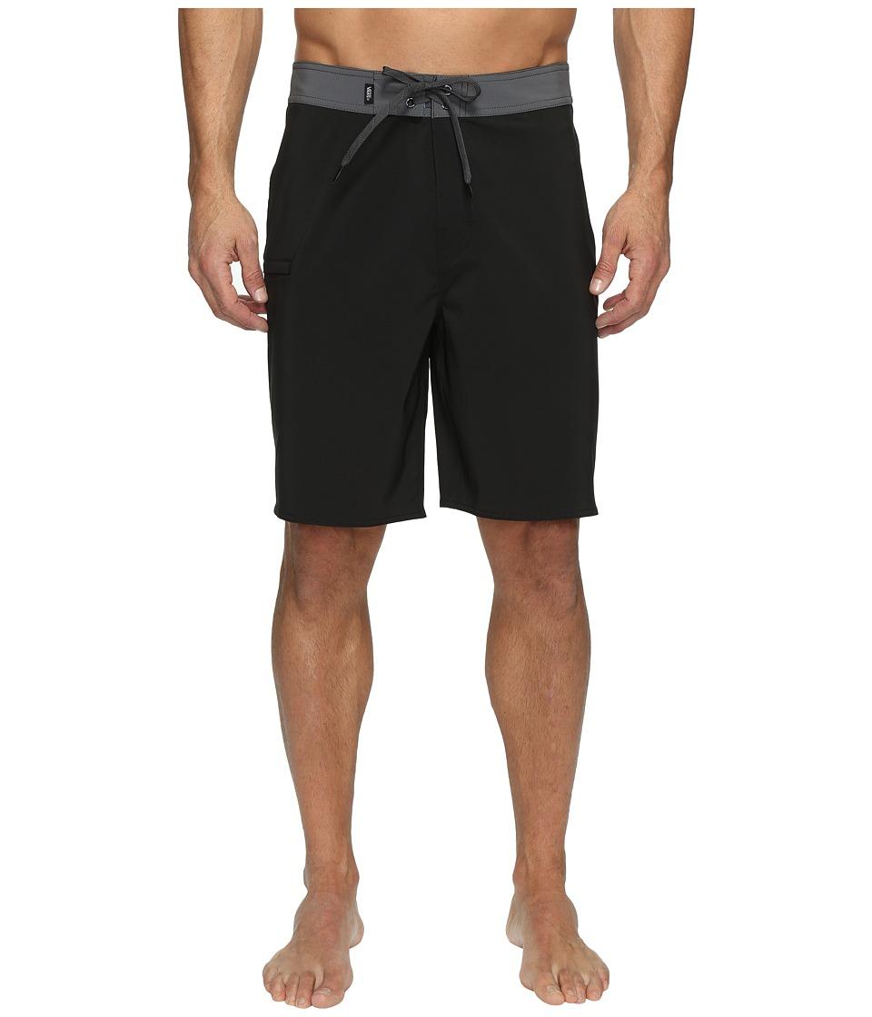 Vans Signal Stretch Boardshorts 20 (Black/Gravel) Men