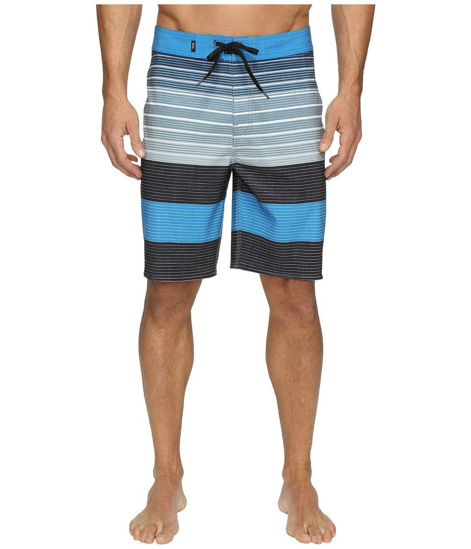Vans Era Stretch Boardshorts 20 (Black Compass Stripe) Men