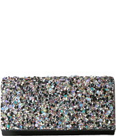 Jessica McClintock - Chloe Shimmer with Rocks Clutch