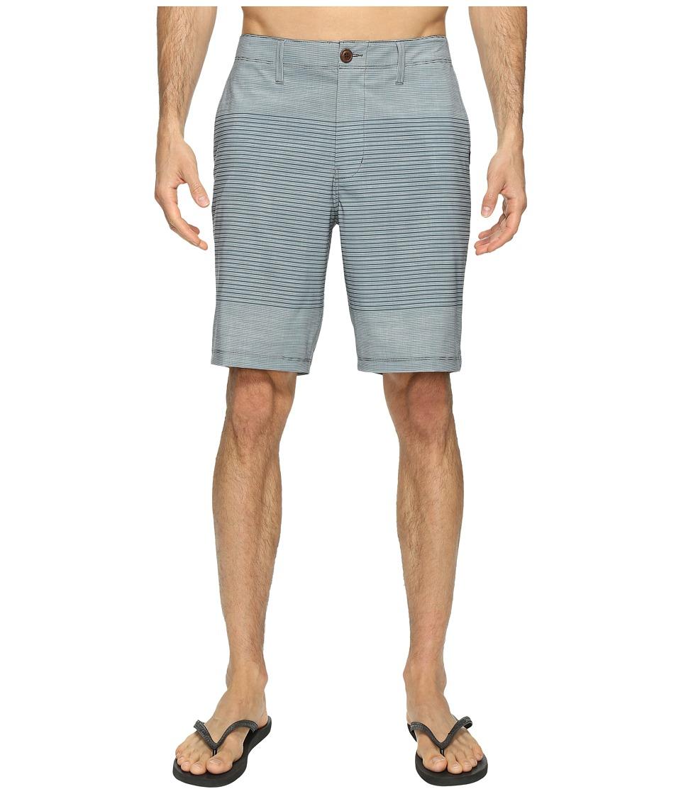 Vans Gaviota Stripe Hybrid Shorts 20 (Dark Slate) Men
