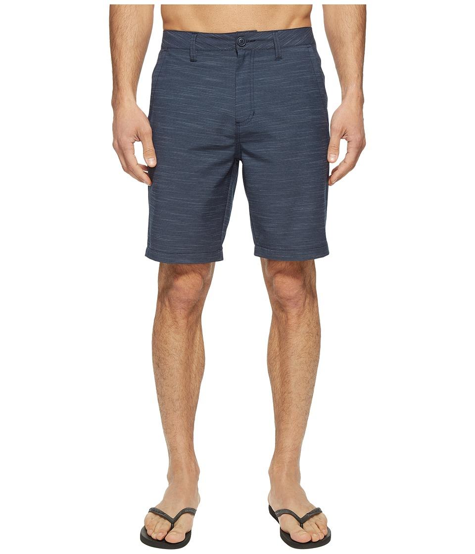 Vans Authentic Slub Hybrid Shorts (Dress Blues) Men