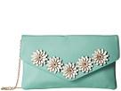 Jessica McClintock - Arielle Flower Applique Envelope Clutch
