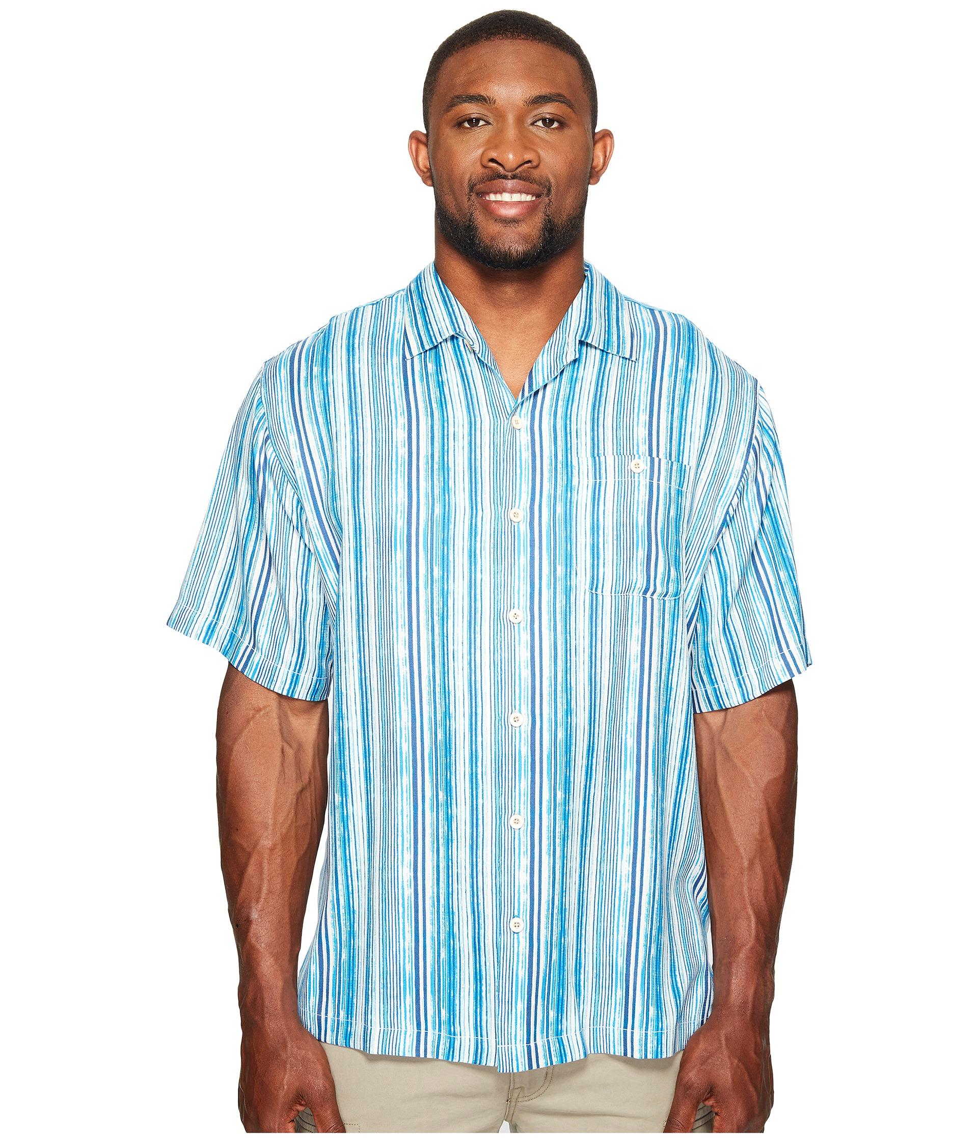 Tommy Bahama Big Tall Big Tall Stripe Me To Paradise
