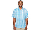 Tommy Bahama Big & Tall - Big & Tall Stripe Me to Paradise Camp Shirt