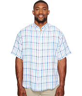 Tommy Bahama Big & Tall - Big & Tall Celestia Plaid Camp Shirt