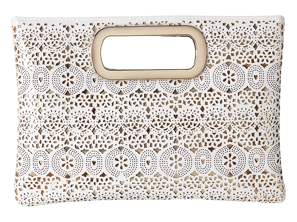 Jessica McClintock - Tiffany Perforated Handle Clutch