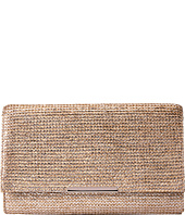 Jessica McClintock - Nora Printed Straw Envelope Clutch