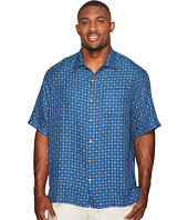 Tommy Bahama Big & Tall - Big & Tall Keep It in Check Camp Shirt