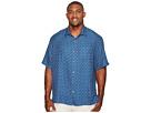 Tommy Bahama Big & Tall - Big & Tall Keep It in Check Camp Shirt