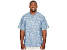Tommy Bahama Big & Tall - Big & Tall Marlin Party Camp Shirt
