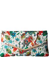 Jessica McClintock - Arielle Tropical Floral Envelope Clutch