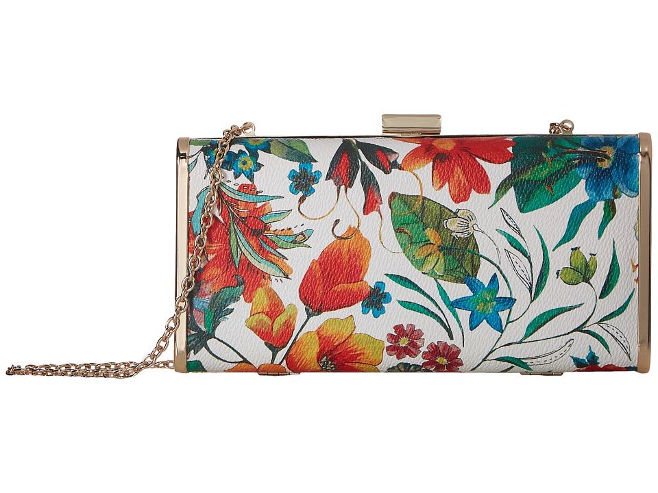 Jessica McClintock - Heather Tropical Floral Minaudiere