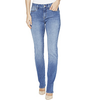 Mavi Jeans - Kendra High Rise Straight Leg Jeans in Mid Soft Shanti